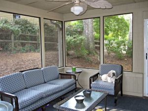 Screened-in Porch is the next room I have big plans for!