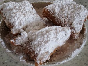 You can't go to NOLA without a trip to Cafe du Monde for Beignets