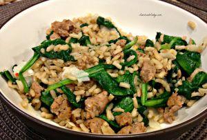 Sausage and Rice Bowl